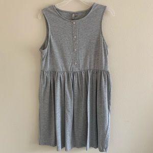 ASOS Sleeveless Button Smock Dress